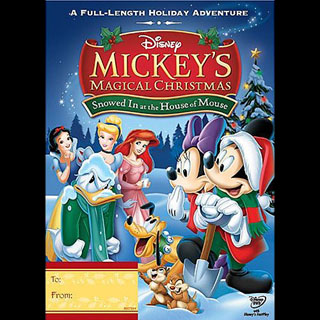 dvd movies - Mickey Magical Christmas Snowed In At The House Of Mouse
