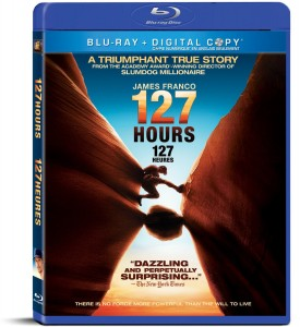 127 hours blu ray dvd