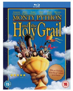 monty python and the holy grail blu ray