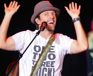 American Singer Jason Mraz Holds Concert In Shanghai