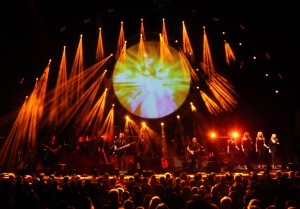 Brit Floyd performing at Manchester Bridgewater Hall 14.05.2012