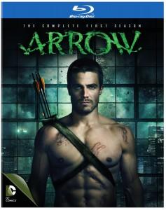 arrow the complete first season blu ray