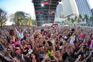 Electronic and urban music festival