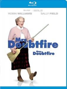 mrs doubtfire blu ray