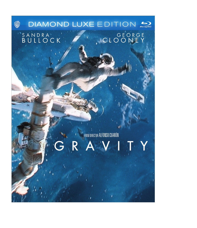 Gravity diamond luxe edition blu ray edition orcasound - Gravity movie 4k ...