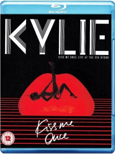 kylie kiss me once live at the sae hydro