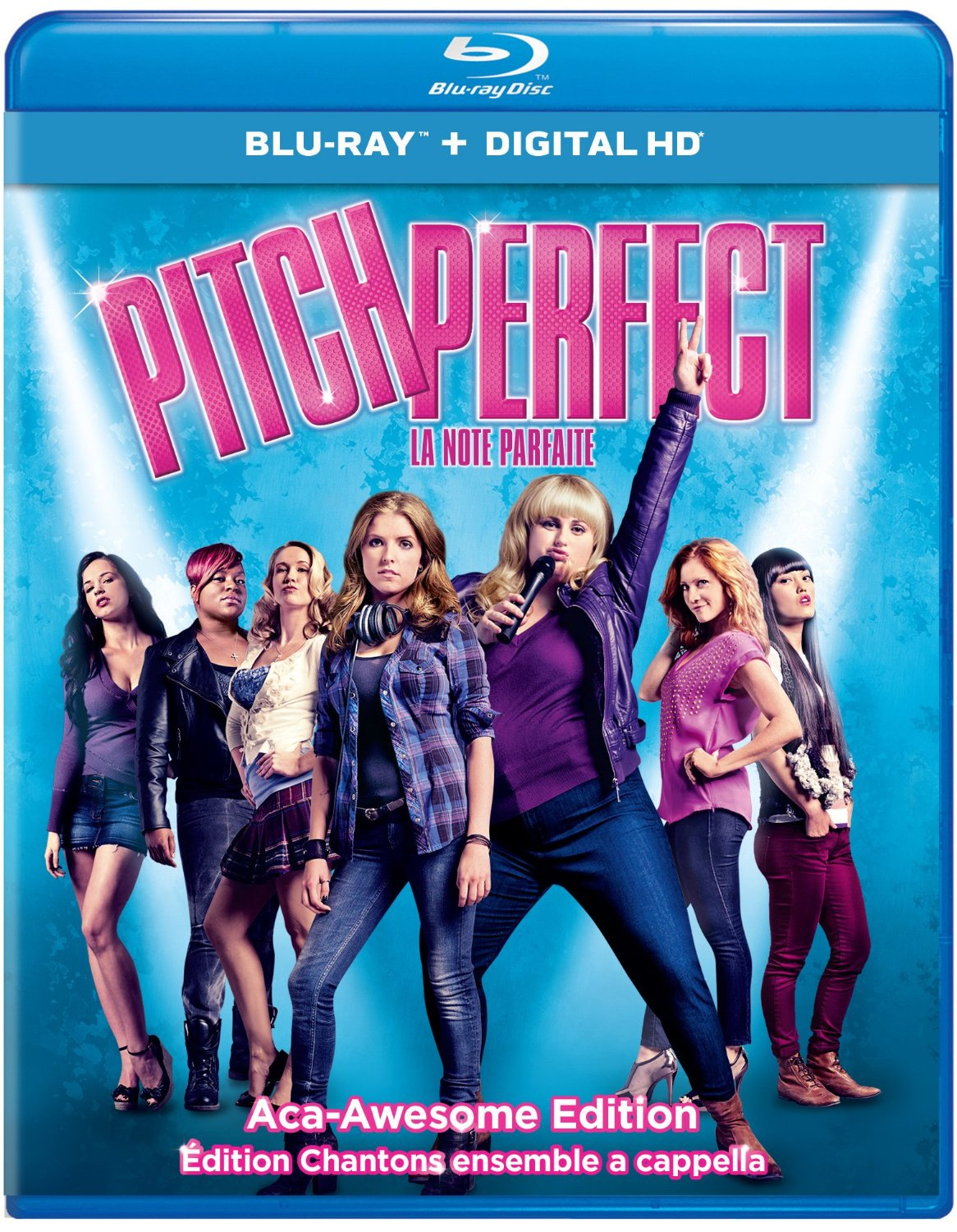 Pitch Perfect: Sing-Along Aca-Awesome Edition – Blu-ray