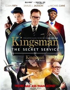 kingsman the secret service blu ray