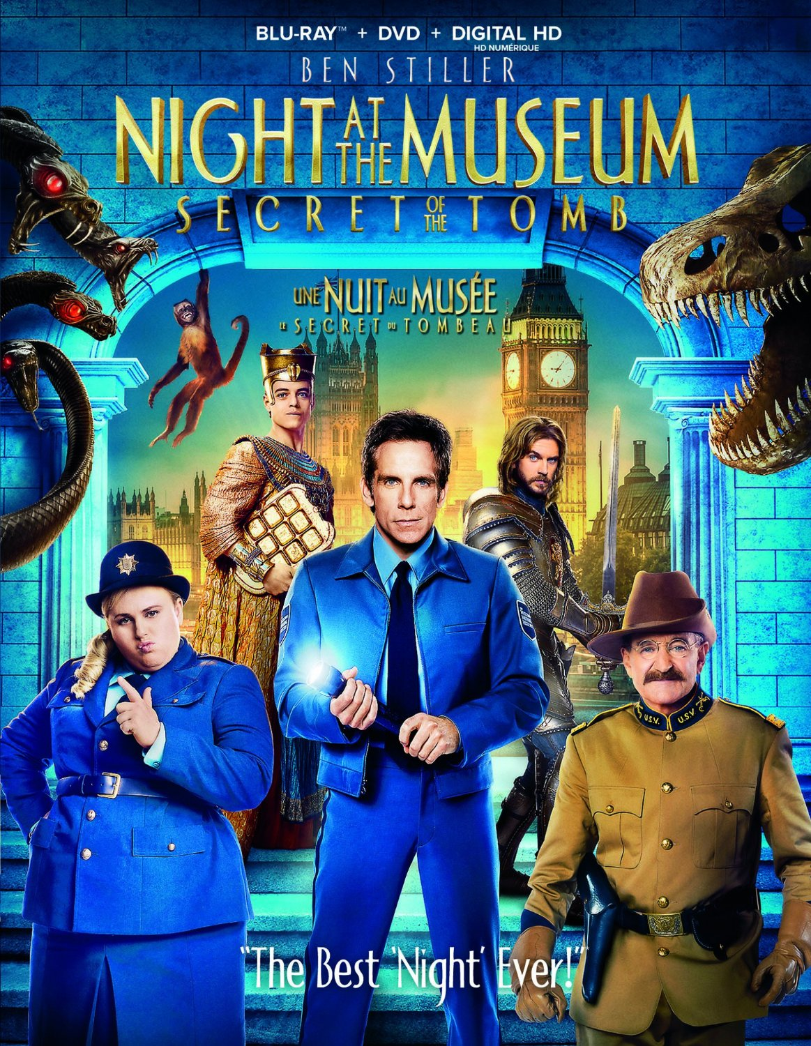 night at the museum: secret of the tomb – blu-ray/dvd combo – orcasound