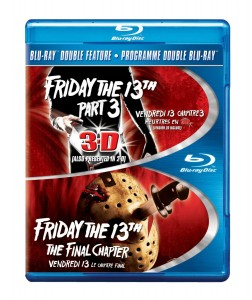 Friday the 13th Double Feature: Friday the 13th Part 3 3D/Friday the 13th: The Final Chapter – Blu-ray Edition