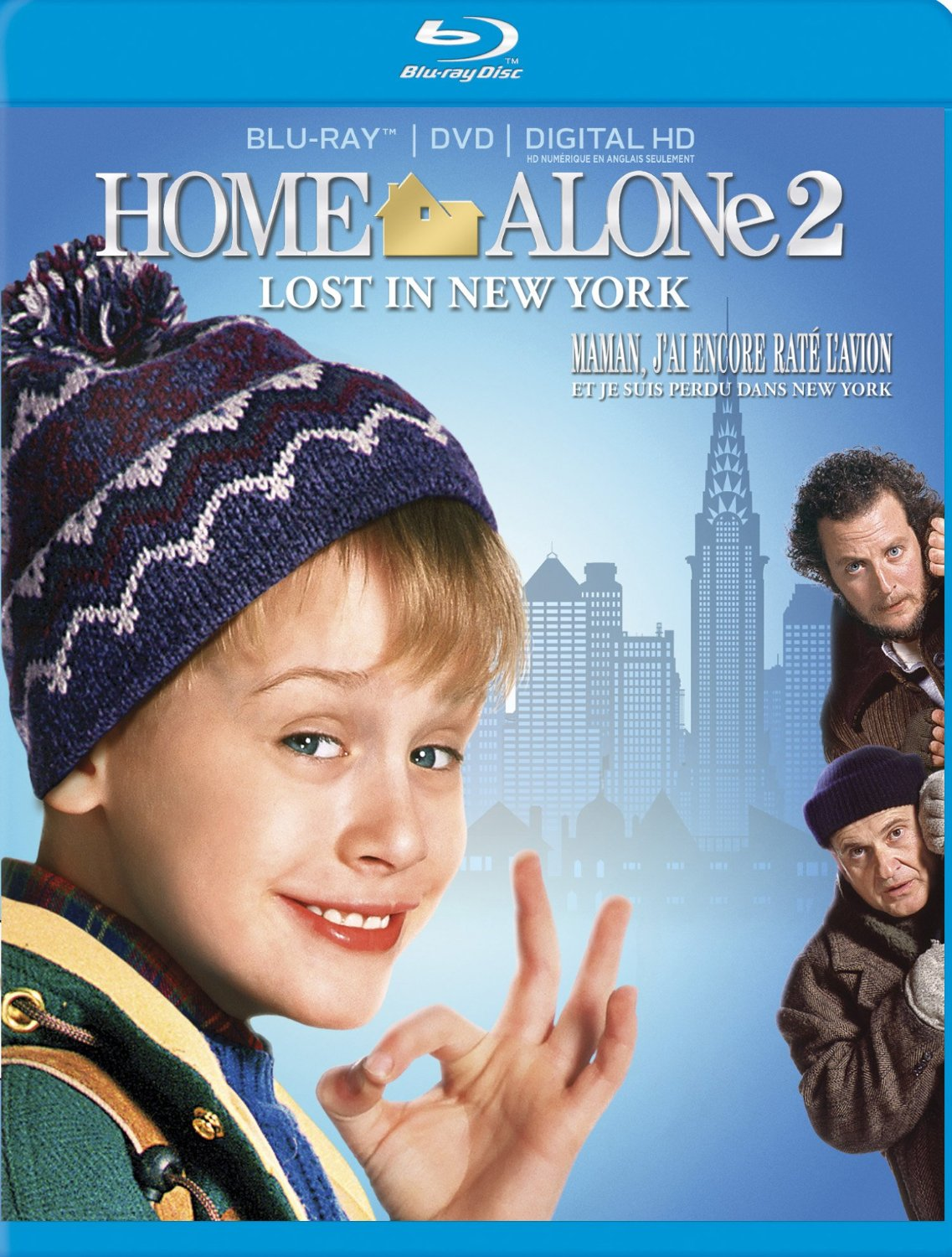 home alone 2 lost in new york blu ray dvd combo edition orcasound. Black Bedroom Furniture Sets. Home Design Ideas