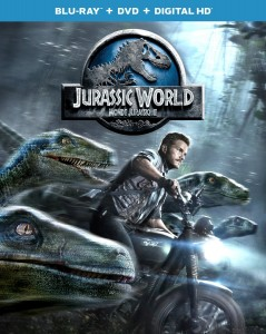 jurassic world blu ray