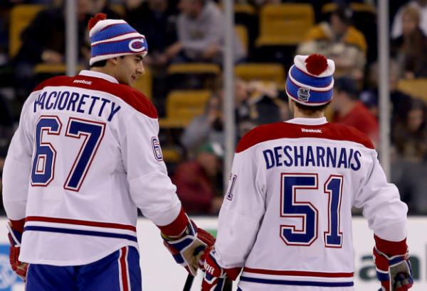 Montreal Canadiens vs  Boston Bruins @ TD Gardens – October