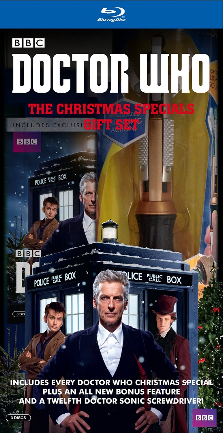 Doctor Who Christmas Special 2015.Doctor Who The Christmas Specials Gift Set Blu Ray