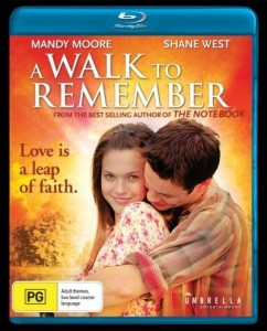 a walk to remember blu ray