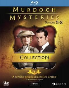 murdoch mysteries seasons 5 8 collection