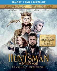 the huntsman winters war blu ray