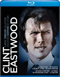 Clint Eastwood 4-Movie Thriller Collection – Blu-ray Edition