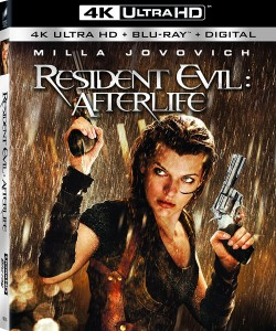 Resident Evil: Afterlife 4K – 4K/Blu-ray Combo Edition