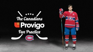 The Provigo Canadiens Fan Practice