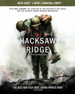 hacksaw ridge blu ray dvd combo edition