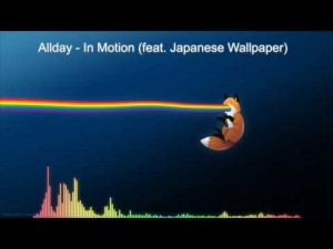 """Aussie artist, Allday debuts new video: """"In Motion ft. Japanese Wallpaper"""""""