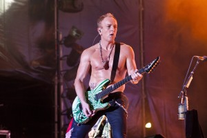 Def Leppard And Whitesnake and Europe Perform In Barcelona