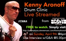 kenny aronoff drum clinic