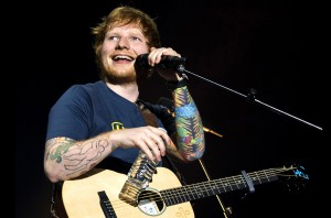 Ed Sheeran in concert, Zurich, Switzerland - 19 Mar 2017
