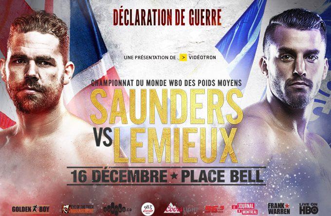 Declaration of War – Boxing Style: Saunders vs. Lemieux