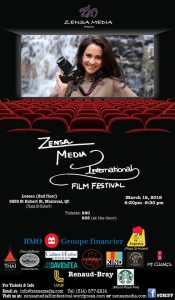 The Zensa Media International Film Festival Takes Place on March 16, 2018