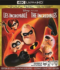 The Incredibles – 4K Ultra HD/Blu-ray Combo Edition