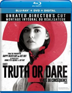 Truth or Dare: Unrated Director's Cut – Blu-ray/DVD Combo Edition