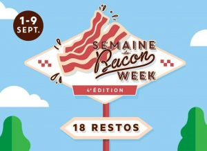NOTICE TO BACONISTAS THIS IS THE RETURN OF THE WEEK OF BACON – SEPTEMBER 1-9 AT DIX30