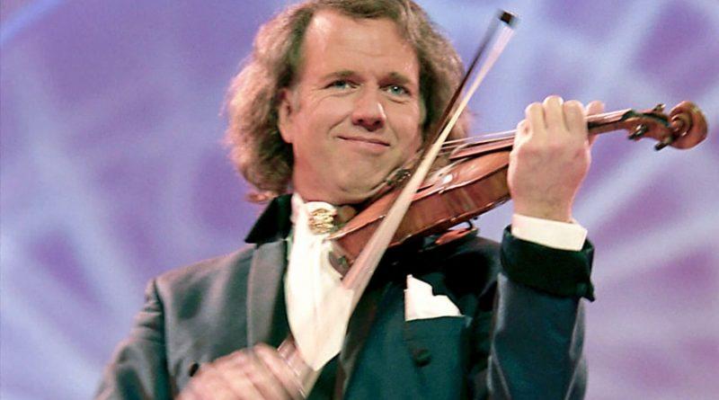 Dutch Violinist Andre Rieu Live