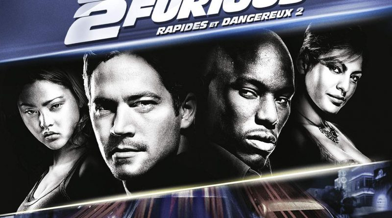 2 Fast Furious 4K Ultra HD Blu Ray Combo Edition