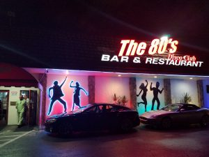 The 80's Disco Club Bar and Restaurant – South Florida's very own Virtual Time Machine Back to that Decade