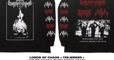 Launch (LORDS OF CHAOS Tees):  Limited Edition Release in association with LORDS OF CHAOS starring Rory Culkin