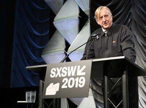 T BONE BURNETT GIVES DISRUPTIVE KEYNOTE SPEECH AT 2019 SXSW