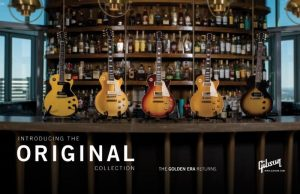 Gibson: Announces New Original, Modern and Custom Shop Collections