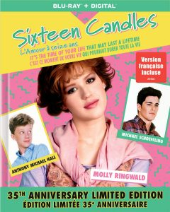 Sixteen Candles: 35th Anniversary Limited Edition – Blu-ray Edition