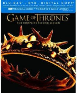 Game of Thrones: The Complete Second Season – Blu-ray/DVD Combo Edition