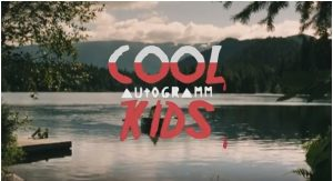 Power pop trio Autogramm pay tribute to 80s campsite horror on 'Cool Kids'