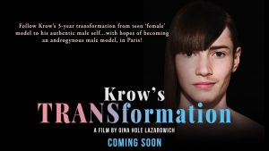 Canada's First Trans Male Model Subject of New Canadian Documentary Krow's TRANSformation