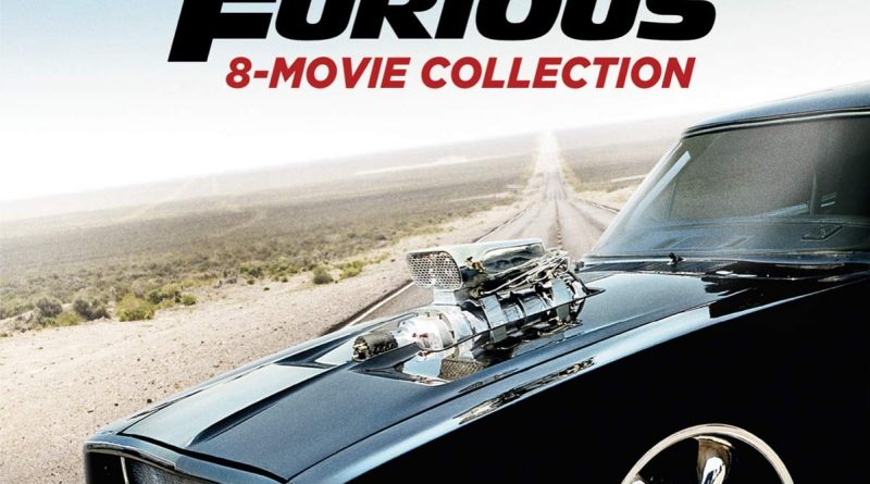 Fast & Furious: 8-Movie Collection – 4K HD/Blu-ray Combo Edition