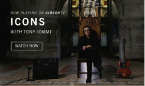 Watch The New 'Icons' Interview Featuring Tony Iommi, Streaming Now On GIBSON TV