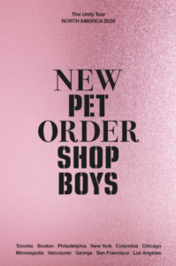 PET SHOP BOYS AND NEW ORDER CONFIRM CO-HEADLINING TOUR