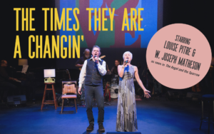 Louise Pitre in The Times They Are a Changin' at the Segal Centre