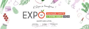 Expo Manger Santé et Vivre Vert 2020 becomes 2.0/2.0