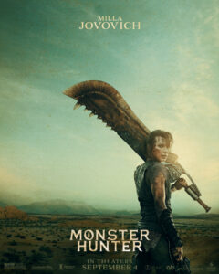 MONSTER HUNTER – OFFICIAL TEASER POSTERS NOW AVAILABLE